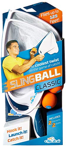 Blue Orange Djubi Classic - the Coolest New Twist on the Game of Catch!, Slingball Classic, White
