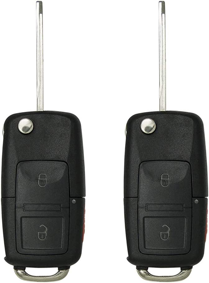 Popular products Keyless2Go Replacement for Max 87% OFF New Keyless Remote Flip Button Car 3