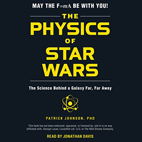 The Physics of Star Wars audiobook cover art