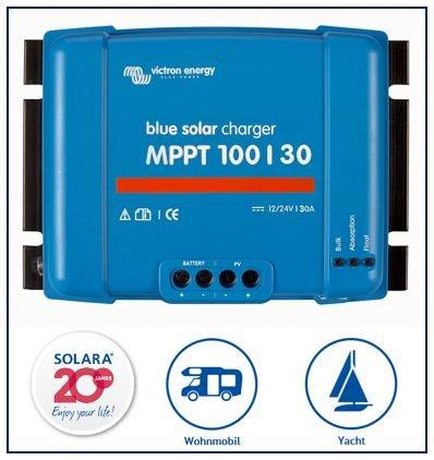 SOLARA Victron Energy BlueSolar MPPT 100/30 (12/24V-30A) - SCC020030200