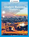 Modern Business Statistics with Microsoft Excel (MindTap Course List)