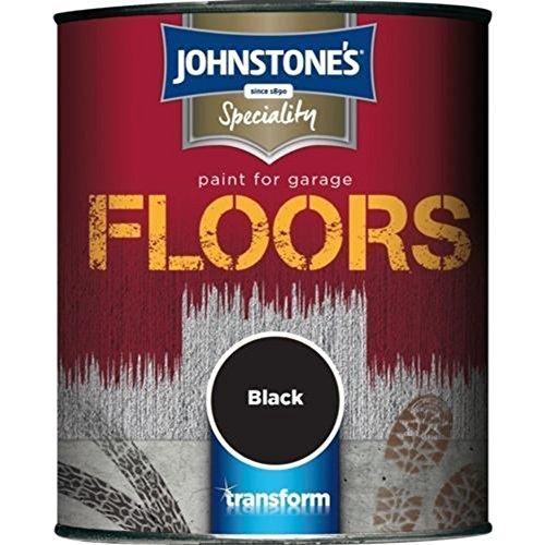Alto rendimiento especiales Johnstones pintura negro 2,5 litros