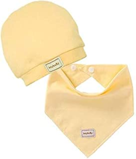 Baby feeding supplies Cotton baby saliva towel adjustable bib with hat children's clothing accessories yellow suit bib soother pacifier baby bib boy girl Suitable for infants and toddlers