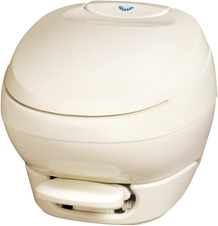 Aqua-Magic Limited time for free shipping Bravura RV Toilet Pedal Parchme Low Flush Profile quality assurance