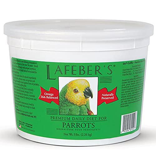 Lafeber's Premium Daily Diet for Parrots, 5 LBS