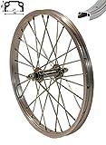 Redondo 20 Zoll Vorderrad Laufrad Fahrrad 20' Kasten Felge Aluminium Silber