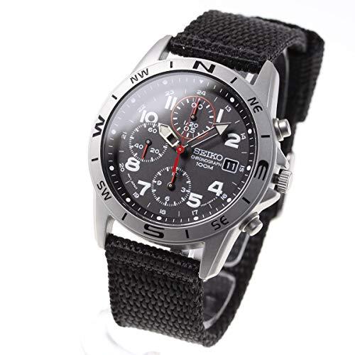 [セイコーimport]SEIKO 腕時計 逆輸入 海外モデル ブラック SND399P メンズ [並行輸入品]