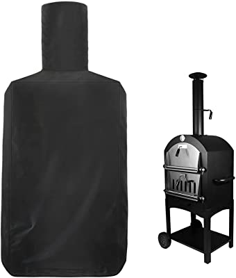 Femuar Pizza Oven Cover Patio Outdoor - Oven Pizza Cover Waterproof for Blackstone Pizza Ovens, Weather Resistant Pizza Oven Cover Heavy Duty Dust-Proof Windproof Anti-UV