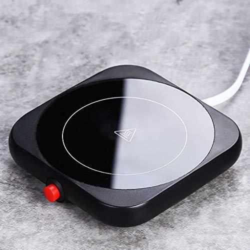 Elektrische Tassenwärmer Pad,Warm Cup 55 Grad Heiße Milch Kaffee Selbsterhitzung Cup Büro Konstante Temperatur Heizung Coaster Heizung Isolierung Unterseite Mit Cup (Color : Figure 3)