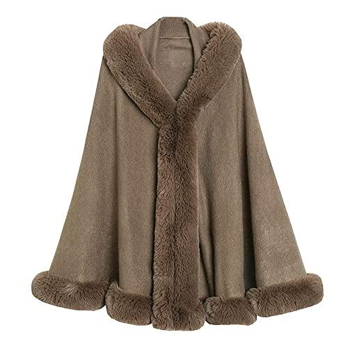ZHANGXJ Cómodo Manta con Capucha Sherpa Fluffle Manta Camiseta Caliente Suave Acogedora Reversible Grande Manta Polar con Capucha Señora Mantón 135X175CM Cálido