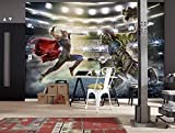 Komar - Marvel - Fototapete THOR AND HULK - 368 x 254 cm - Tapete, Wand Dekoration, Superhelden, Gladiatoren - 8-4031