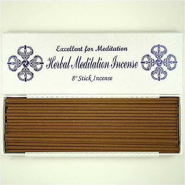 Herbal Meditation Incense 8 Stick Incense 4 Mm In Diameter 100 Natural TB006S