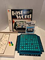 Milton Bradley Last word Game