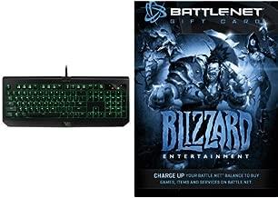 $20 Battle.net Store Gift Card Balance - Blizzard Entertainment [Digital Code] and Keyboard Bundle