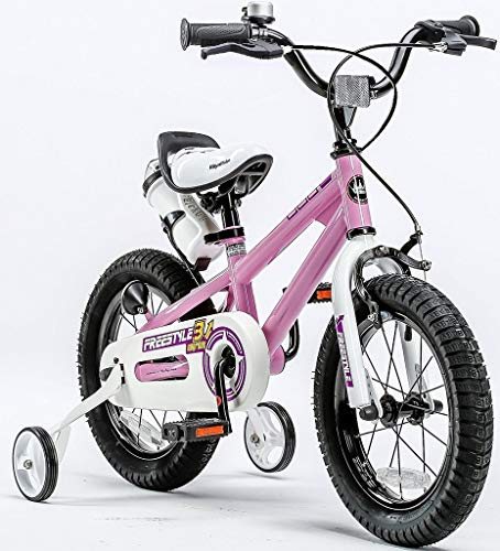 "Royalbaby Girls' Freestyle stabilisers Kids Children Child Bike Bicycle, Pink, 18"""