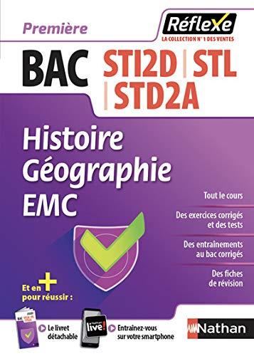 Histoire-Géographie 1re STI2D-STL-STD2A (Guide Réflexe N23) 2018