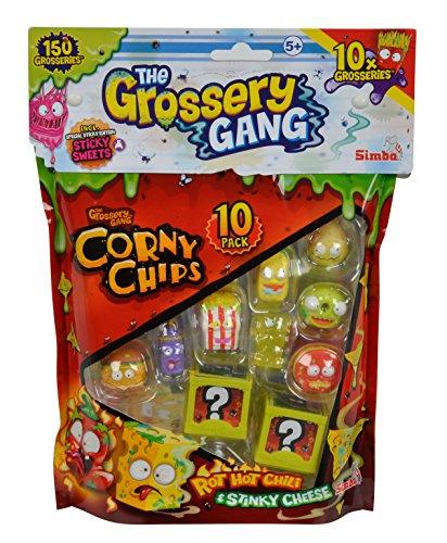 Grossery Gang - Bolsa de 10 piezas (Simba 9291002) , color/modelo surtido