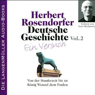 Von der Stauferzeit bis zu König Wenzel dem Faulen audiobook cover art