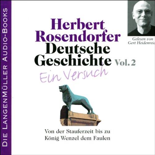 Deutsche Geschichte - Ein Versuch (Vol. 2) Titelbild
