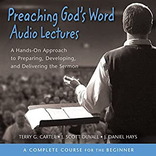Preaching God's Word: Audio Lectures audiobook cover art