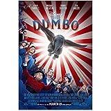 MGSHN Dumbo Film Tim Burton Colin Farrell Filmkunst Poster