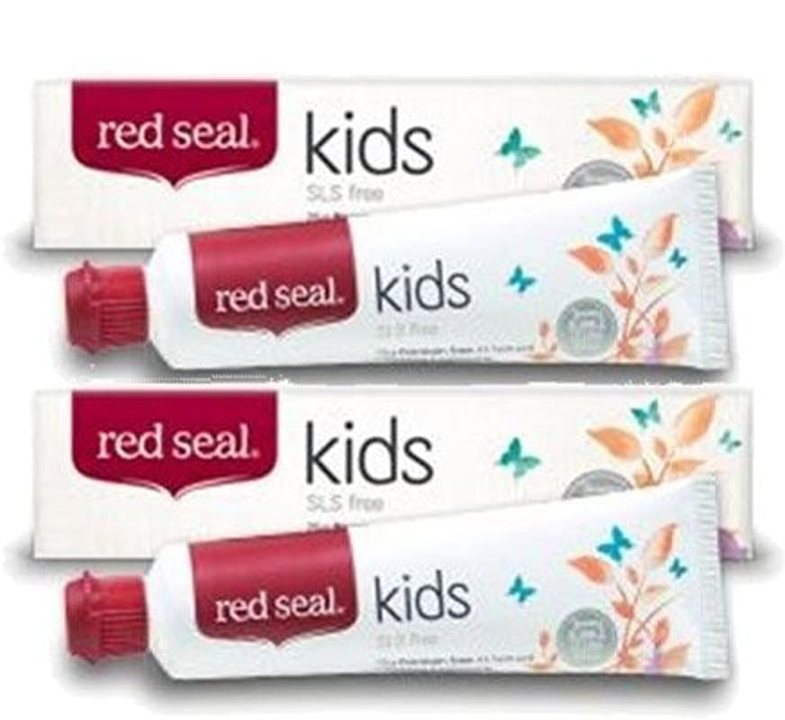 織るボタン影響する子供用 天然 キッズ 歯磨き粉 75g 2個セット / Natural Kids Toothpaste 75g [海外直送] [並行輸入品]