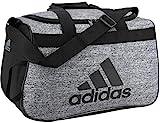 adidas Unisex Diablo Small Duffel Bag, Onix Jersey/Black, ONE SIZE