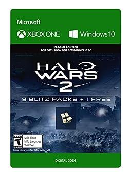 Halo Wars 2  10 Blitz Packs - Xbox One / Windows 10 Digital Code