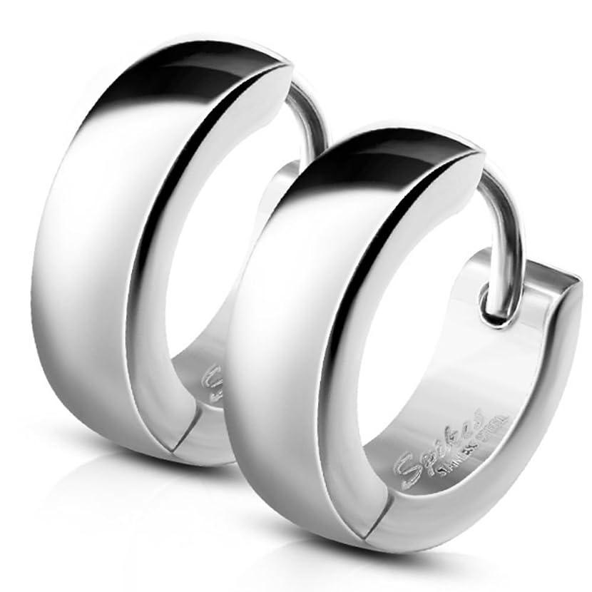 Bungsa Small Hoop Earrings, Stainless Steel Earrings