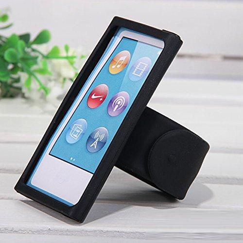 Zhuhaitf Sports Silicone Wristband Case Cover for iPod Nano 7th 8th Generation
