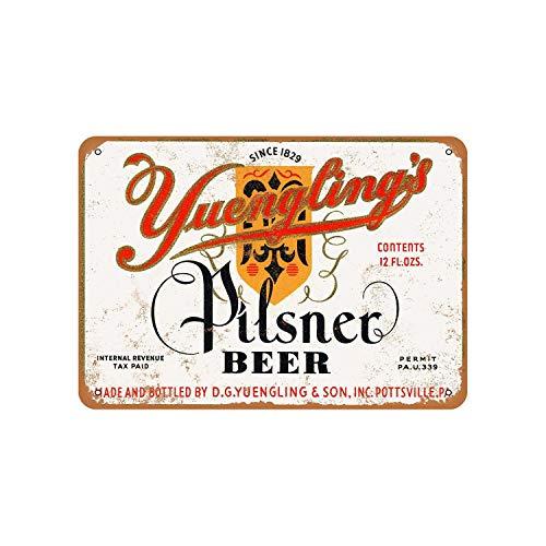 43LenaJon 1934 Yuengling's Pilsner Bier Vintage Look Blechschild