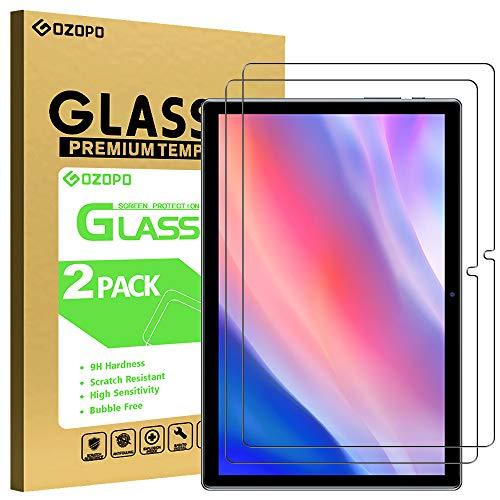 GOZOPO Protector de Pantalla para Teclast P20HD de 10,1 pulgadas, [Resistente a los Arañazos] Película de Vidrio Templado para Teclast P20HD 10,1 Tableta [2-Pack]
