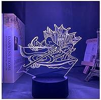 3Dイリュージョンナイトライト 鎧を着たアーチェリーマン LED3Dキッズおもちゃベビースリープデスクランプ寝室の装飾ベッドサイドスマートタッチ7色変化する調光可能、女の子の男の子のための最高のおもちゃの誕生日