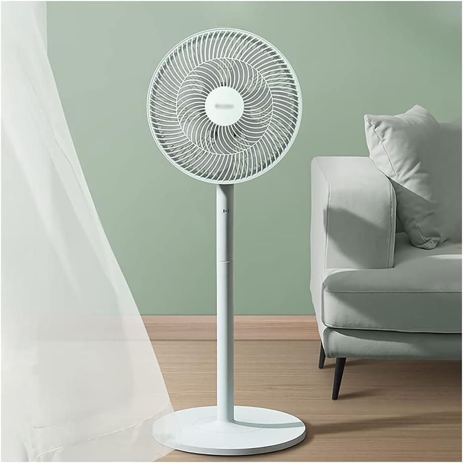 SFF Fan Ventilador de pie con Ventilador de Control Remoto de Pedestal Ajustable Oscilling Oscillating de 3 velocidades para Dormitorio, Sala de Estar, Oficina Silencioso