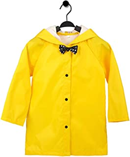 Kids Rain Jacket Packable Hooded Rain Coat for Girls Boys Toddlers Rain Gear, Halloween Cosplay Costumes