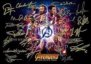 Avengers Infinity War Print (11.7
