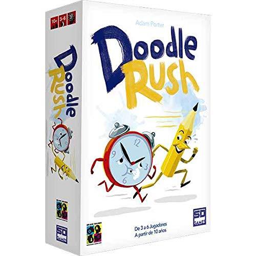 SD GAMES- Doodle Rush, Color (SDGDOORUS01)