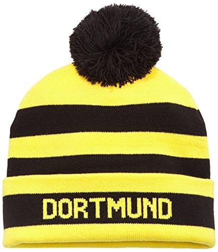 PUMA Mütze BVB Bubble, Black/Cyber Yellow, One size