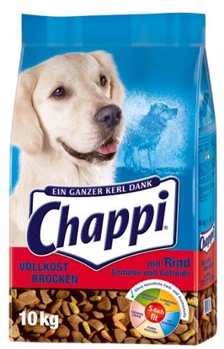 Chappi Vollkost Brocken mit Rind, Gemüse und Getreide 1x10kg