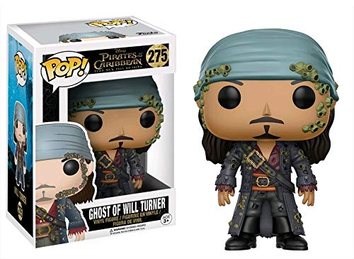 Funko- Ghost of Will Turner Figura de Vinilo, colección de Pop, seria Pirates 5 (12806)
