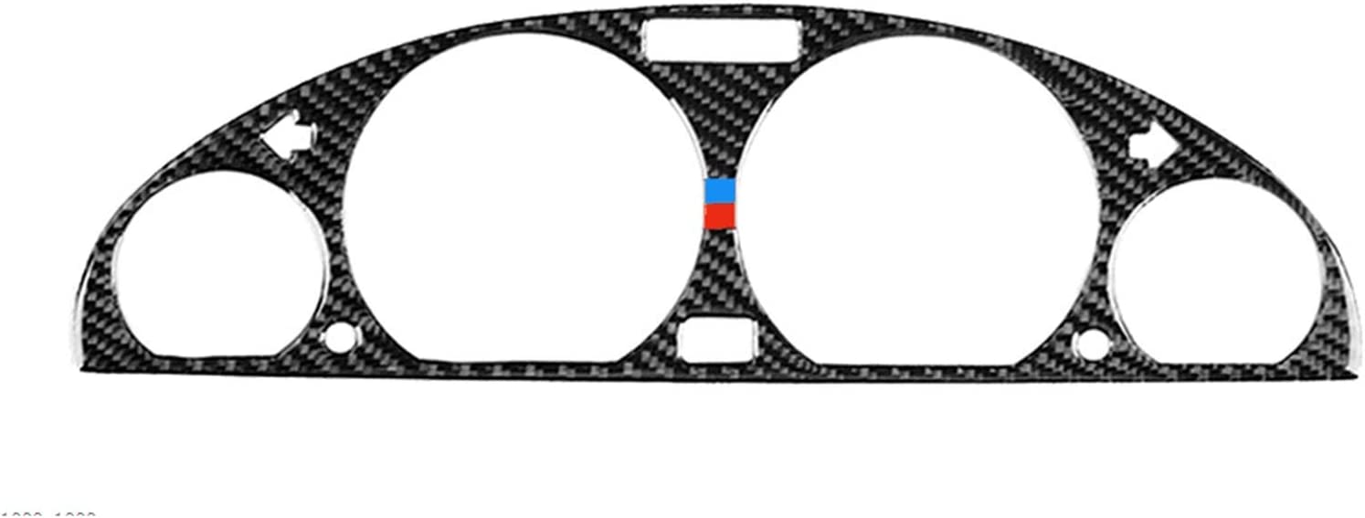 Iinger Carbon Fiber Sticker cheap depot Trim Fit E46 for Series 98-05 BMW 3