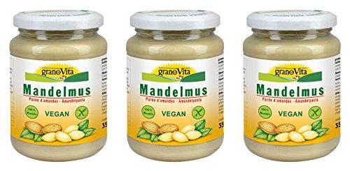 MANDELMUS 100% Mandeln Granovita 3x350g NEU
