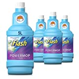 Flash Powermop <span class='highlight'>Refill</span> Liquid, Floor <span class='highlight'>Clean</span>er, Fresh, 5 Litres (1.25 L x 4)