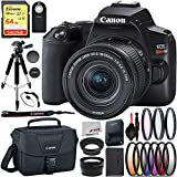Canon EOS Rebel SL3 DSLR Camera (Black) with 18-55 is STM Advanced Bundle