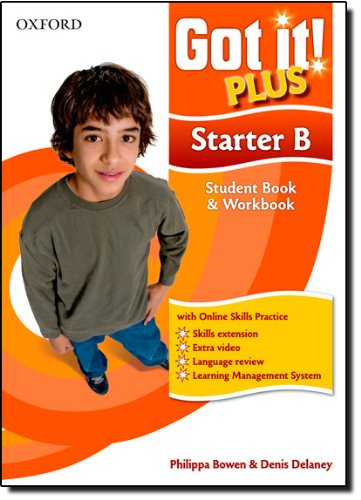 Got It Plus Starter B St Pk: A four-level American English course for teenage learners