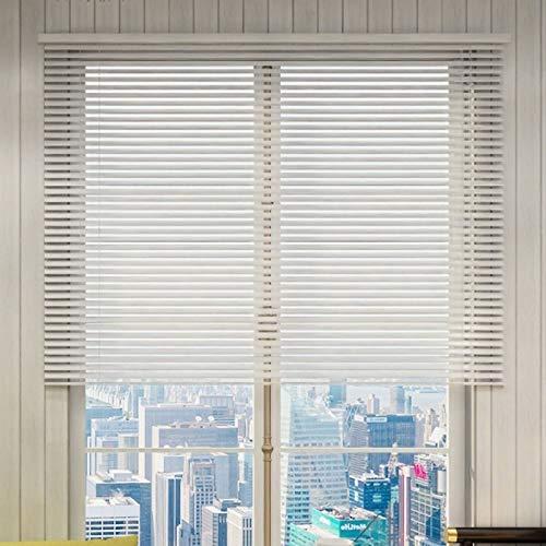Persianas Venecianas Baño de Oficina Persianas Venecianas de Aluminio - Blanco Impermeable Pantalla de Privacidad Lavable, 55cm/75cm/95cm/115cm/135cm/155cm de Ancho ( Size : 55×190cm(21.6×74.8in) )