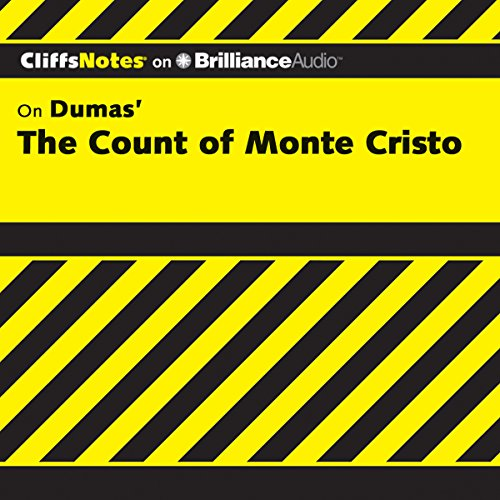 The Count of Monte Cristo: CliffsNotes cover art