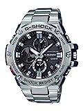 Casio G-Shock–Reloj de hombre de resina y cuarzo y acero inoxidable, color: plateado (modelo:gst-b100d-1acr)