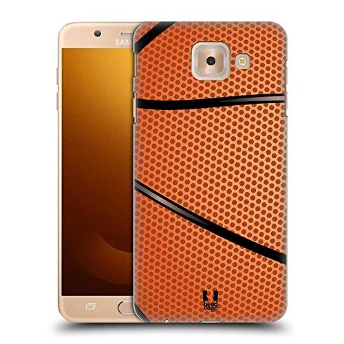 Head Case Designs Baloncesto Colección de Bolas Carcasa rígida Compatible con Samsung Galaxy J7 MAX