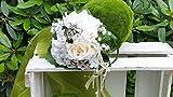 Blumenstrauß Nr.10 - Strauß künstlich - Seidenblumen Liegestrauß Blumen Brautstrauß